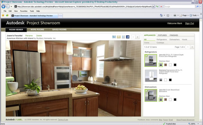 Autodesk Showroom