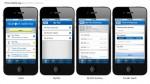 iPhone App Sample Screens